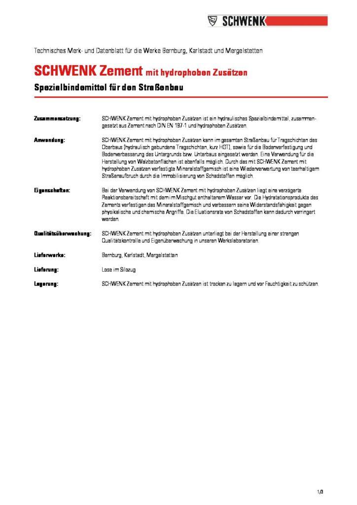 Schwenk Zement Tmudb Bernburg Karlstadt Mergelstetten 2015