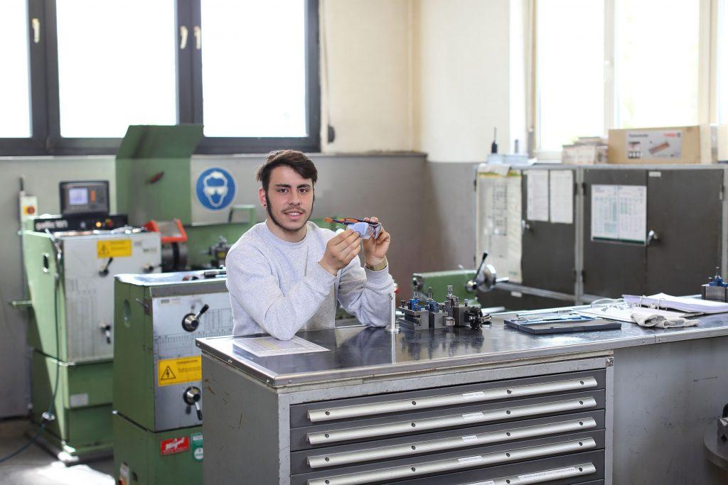 Federico Delmonte – ZE ALL Azubi Verfahrensmechaniker BS