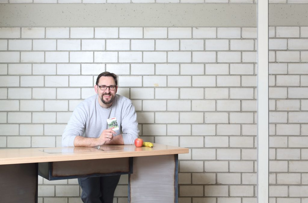 Michael Hölzel – ZE MER Baustofftechnologe