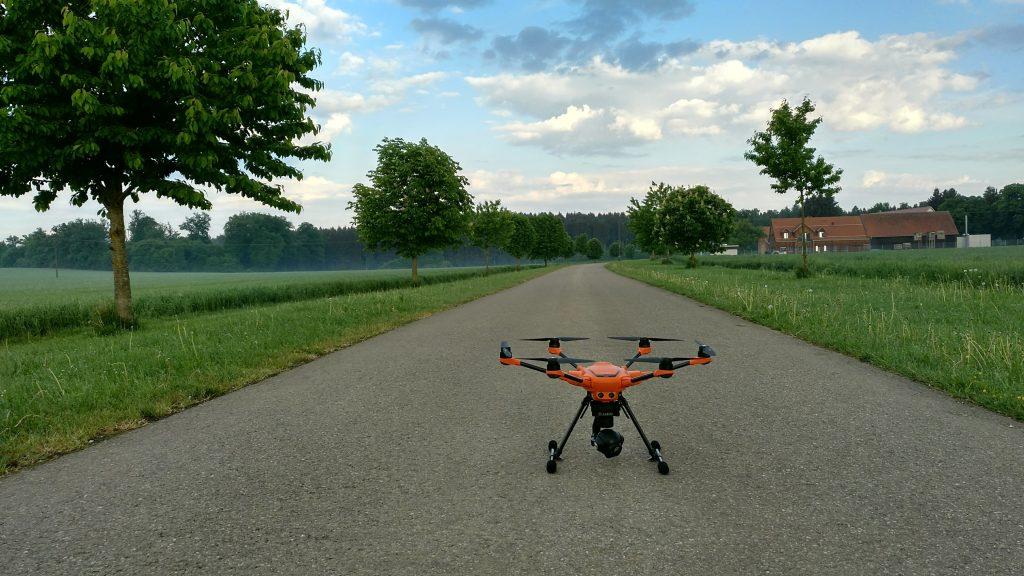 Drohneneinsatz bei SCHWENK