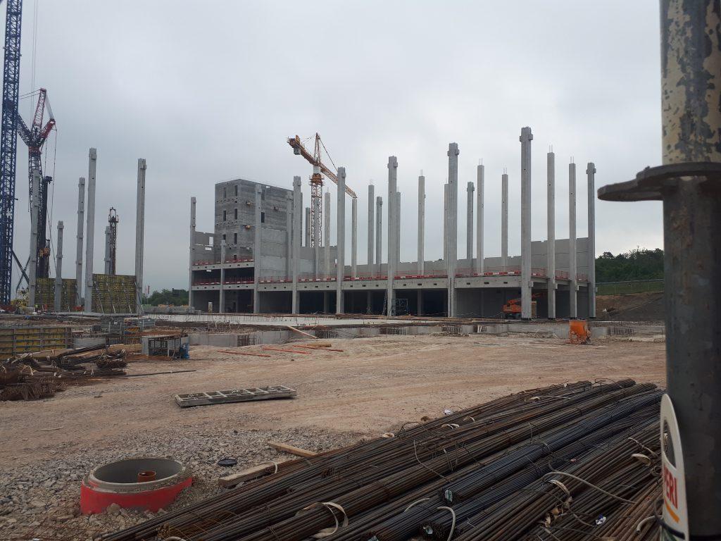 """Baustellenbericht """"Neubau der """"CI-Factory"""" der Fa. Engelbert Strauss in Schlüchtern"""""""