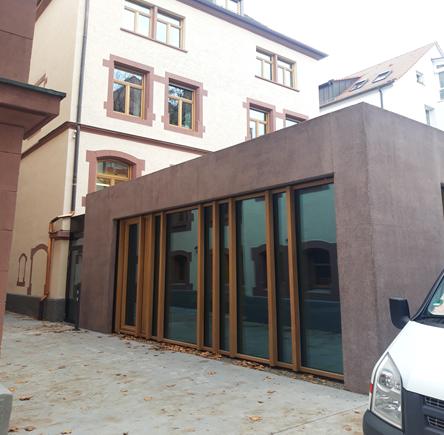 """Baustellenzwischenbericht """"Hochwertige Sichtbetonoptik für das Bischof-Ketteler-Haus"""""""