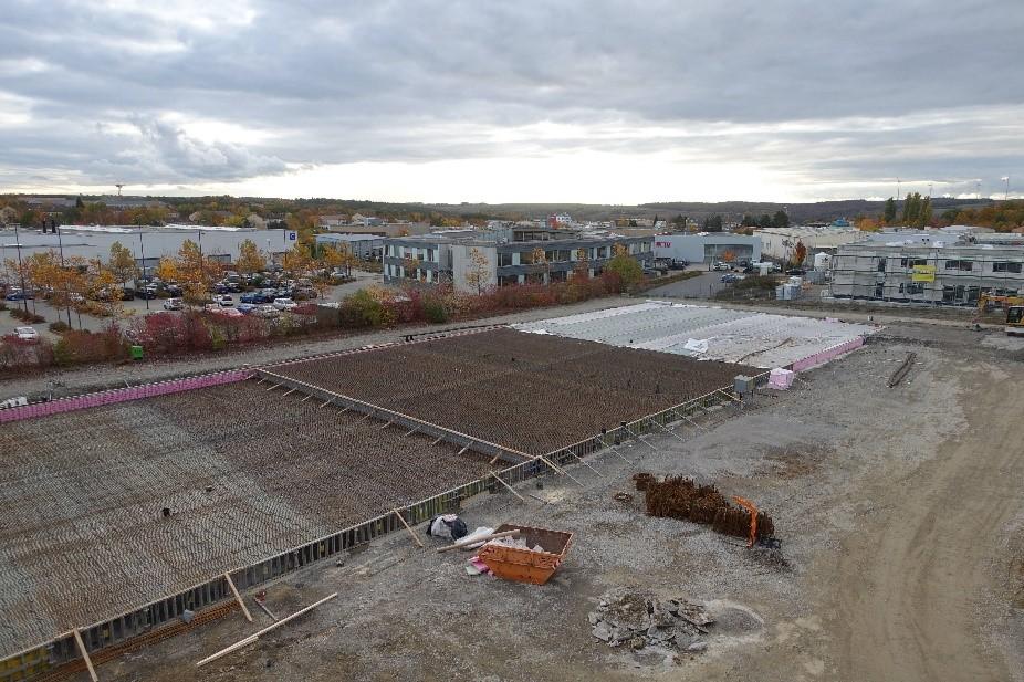 Massige Industriebodenplatte – 2.100 Kubikmeter aus einem Guss